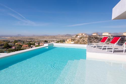 The swimming pool at or near Villa Ann Desinfeccion Certificada y Delivery
