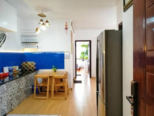 A kitchen or kitchenette at Homestay at Dream House