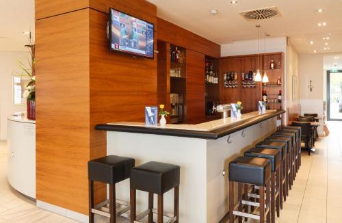 The lounge or bar area at Best Western Hotel Nürnberg City West