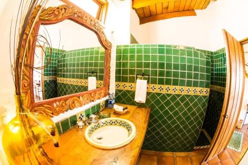 Un baño de Hotel La Casona
