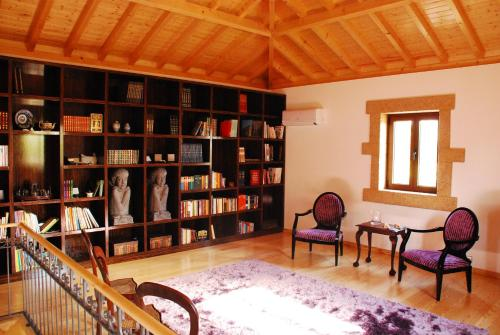 The library in the farm stay
