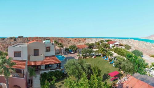 A bird's-eye view of Luxury Villa Karteros