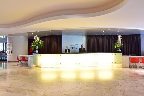 A área de receção ou átrio de Pestana Casino Park Hotel & Casino