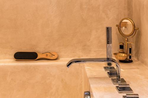 A bathroom at MUSES Hammamet