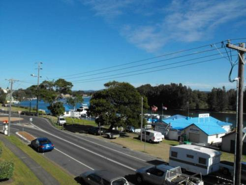 A view of the pool at Sunlake Unit 9, 82 Little Street, Forster or nearby