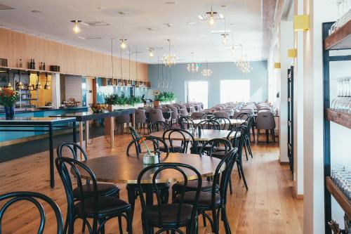 En restaurang eller annat matställe på Rönneberga Konferens
