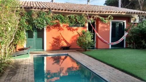 The swimming pool at or near Casa Vila Do Outeiro