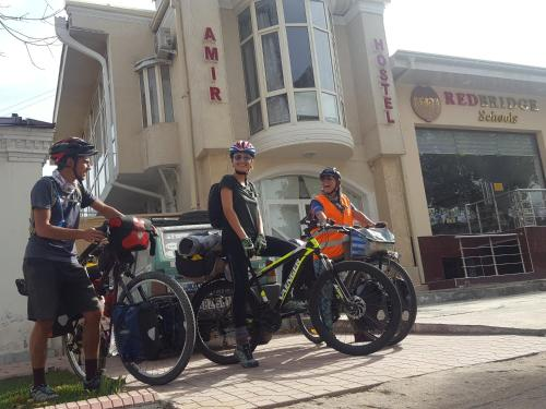 Biking at or in the surroundings of Amir Hostel