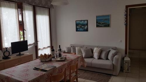 Posezení v ubytování Villa Gardenia