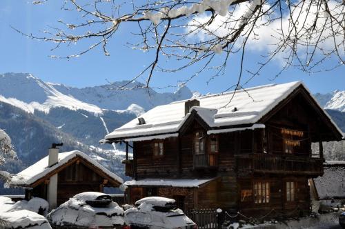 Panorama Chalet Heimatliebe im Winter