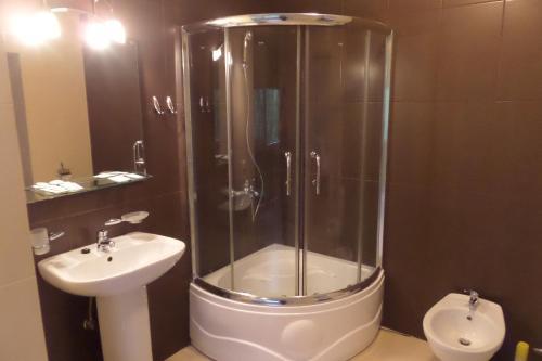 Ванная комната в Апарт-отель Мечта