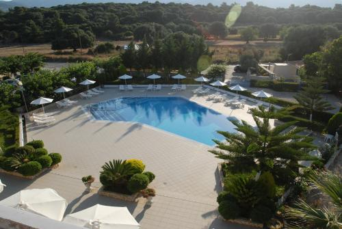 A view of the pool at Limanaki Hotel or nearby