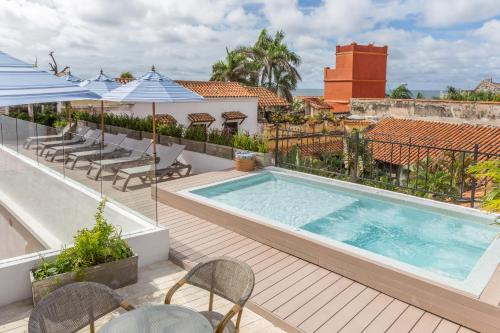 Piscine de l'établissement Hotel Casa La Factoría By Faranda Boutique ou située à proximité