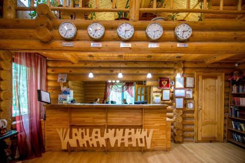 Лобби или стойка регистрации в Дом Отдыха ВКС-Кантри