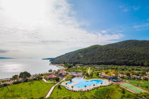 Widok z lotu ptaka na obiekt Camping Residence Oliva