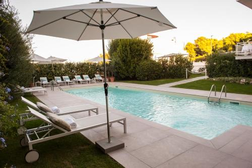 The swimming pool at or near Grand Hotel Passetto