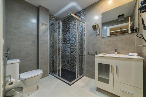 Un baño de Hotel Ciudad del Mar
