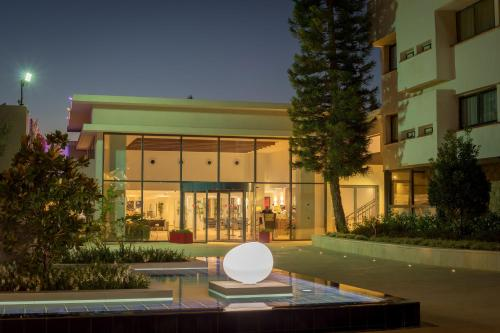 The swimming pool at or near C Hotel Neve Ilan