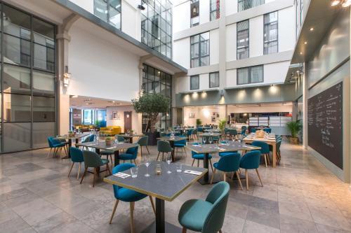Restaurant ou autre lieu de restauration dans l'établissement Appart'City Lyon Part-Dieu
