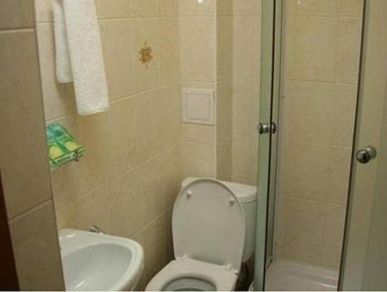 A bathroom at Usadba Hotel