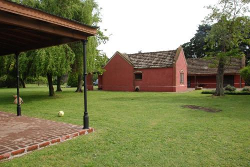 Un jardín fuera de Excelente Casco de estancia en alquiler