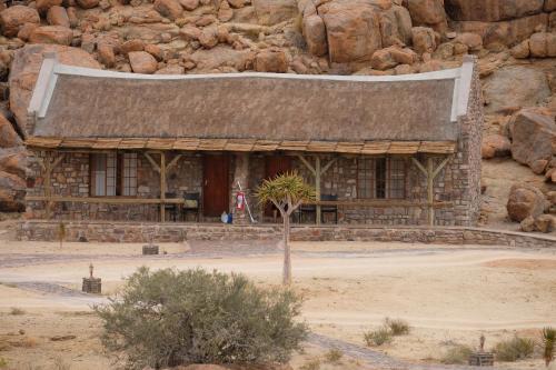 Edificio in cui si trova il lodge