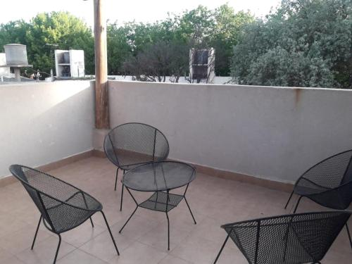 A balcony or terrace at Alquiler temporario