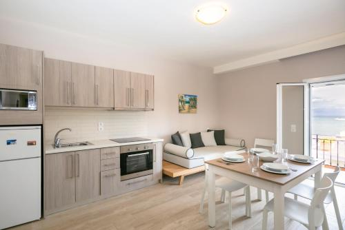 A kitchen or kitchenette at Electra Apartments
