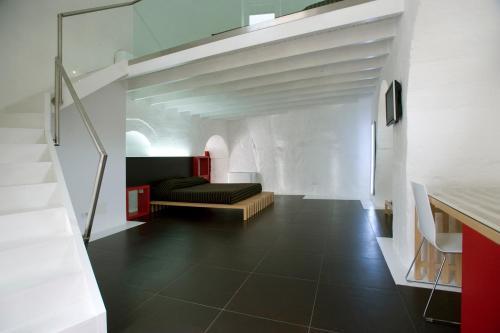 Zona de estar de Basiliani Hotel