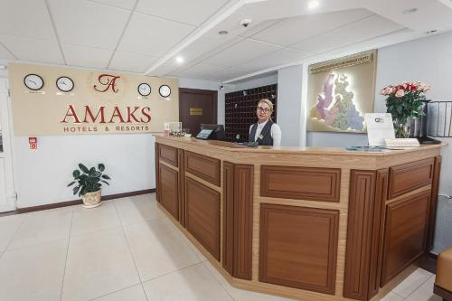 The lobby or reception area at AMAKS Polar Star