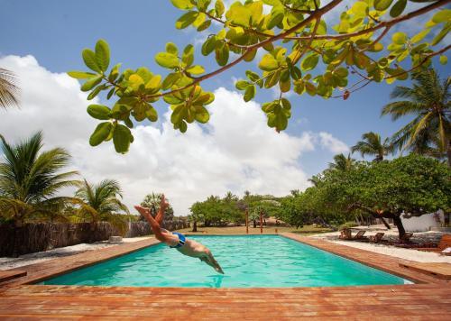 A piscina localizada em La Ferme De Georges ou nos arredores