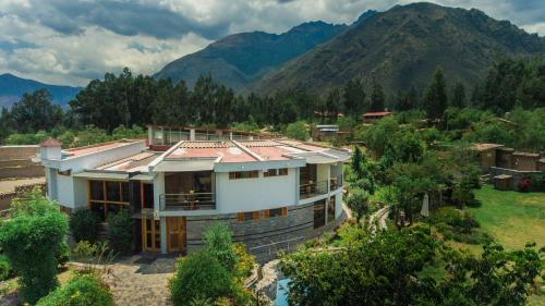 Inti Ñan Hotel a vista de pájaro