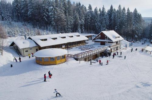 Apartmán Skicentrum Říčky v zimě