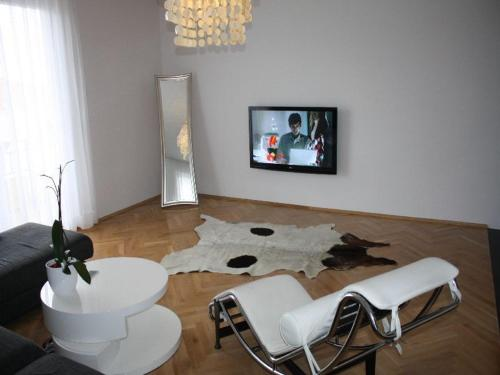 A seating area at Apartmants Biocic