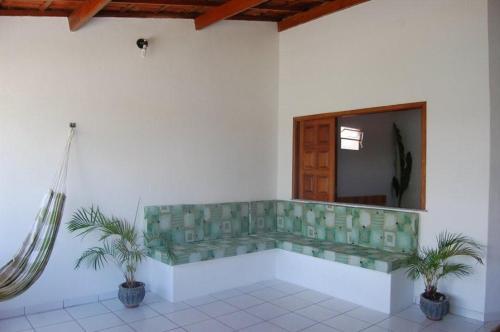 A bathroom at Haus São Francisco 2