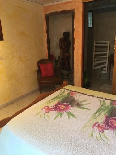 Un ou plusieurs lits dans un hébergement de l'établissement La Caz Oceane