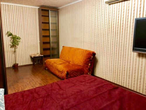 Гостиная зона в Apartment Hanaka Novokyzminskaya