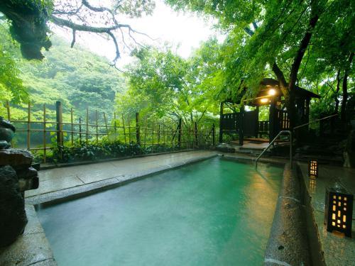 Midoriso 내부 또는 인근 수영장