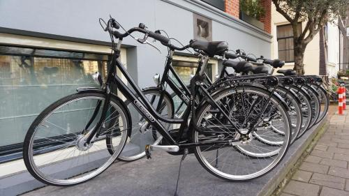 Biking at or in the surroundings of The Hendrick's Hotel