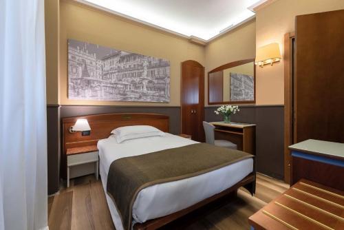 Letto o letti in una camera di Mastino Rooms