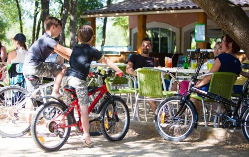 Biking at or in the surroundings of Domaine Les Chênes Blancs