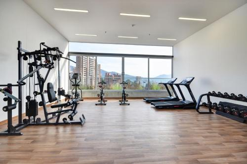 The fitness center and/or fitness facilities at Soul Apartahotel