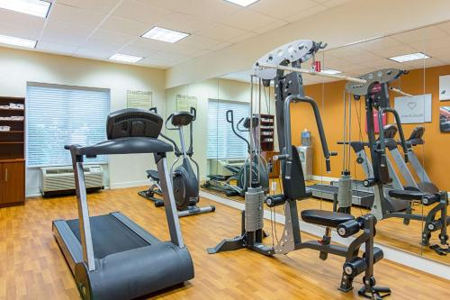 The fitness center and/or fitness facilities at Comfort Suites at Virginia Center Commons