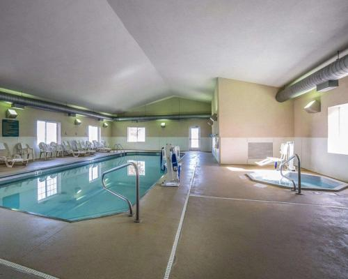 The swimming pool at or near MainStay Suites Casper