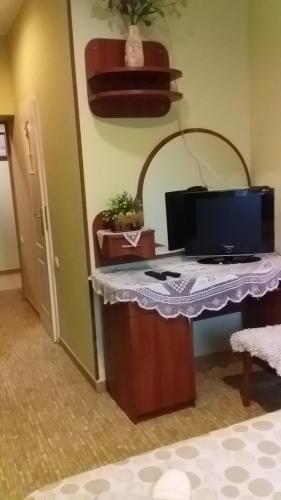 Телевизор и/или развлекательный центр в Мини-отель Боярка
