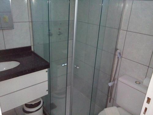A bathroom at Seamar Hotel