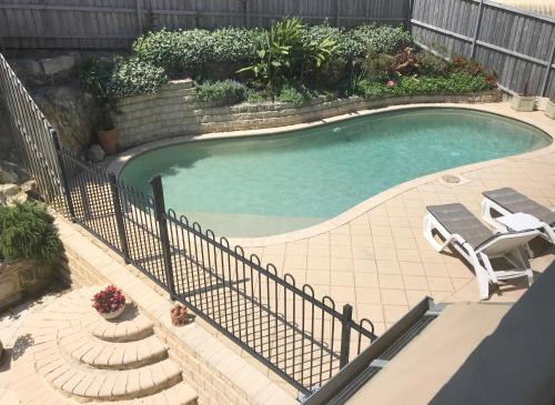 A view of the pool at Avalon Seashells 2 Bedroom apartment with pool or nearby
