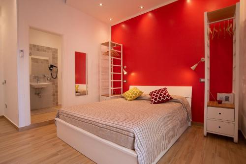 Un ou plusieurs lits dans un hébergement de l'établissement Vanvitelli Domus