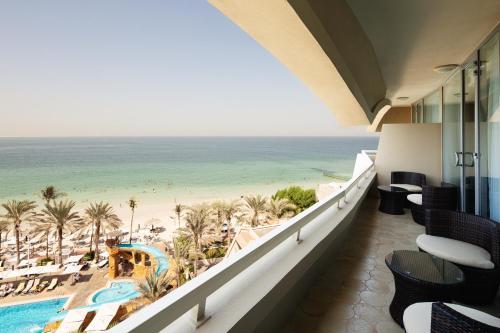 A balcony or terrace at Occidental Sharjah Grand