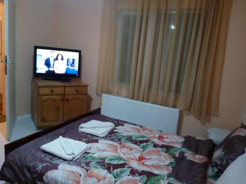 A television and/or entertainment center at Guest House Emiliya